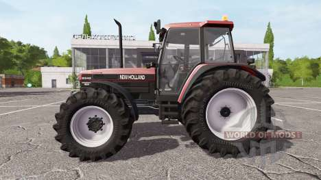 New Holland 8340 red для Farming Simulator 2017