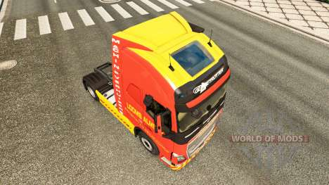 Скин Looms Almelo на тягач Volvo для Euro Truck Simulator 2