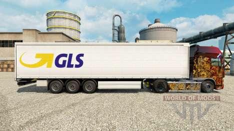 Скин GLS на полуприцепы для Euro Truck Simulator 2