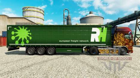 Скин RH на полуприцепы для Euro Truck Simulator 2