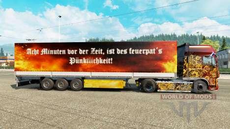 Скин Tuwas на полуприцепы для Euro Truck Simulator 2