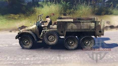 Krupp Protze L2H43 для Spin Tires