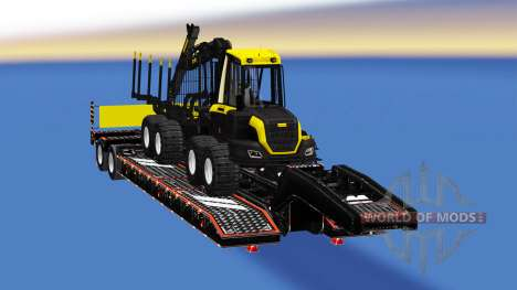 Сборник полуприцепов с грузами v2.5 для American Truck Simulator