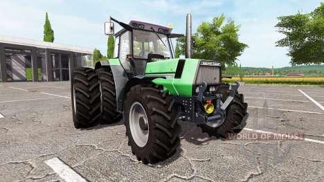 Deutz-Fahr AgroStar 6.61 fun для Farming Simulator 2017