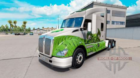 Скин Dragon на тягач Kenworth для American Truck Simulator
