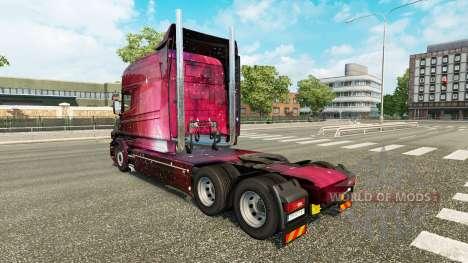 Скин Weltall на тягач Scania T для Euro Truck Simulator 2