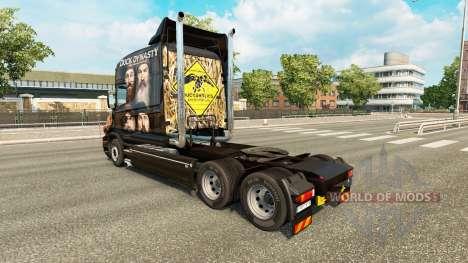 Скин Duck Dynasty на тягач Scania T для Euro Truck Simulator 2