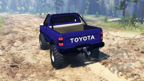 Toyota Hilux 1989 для Spin Tires