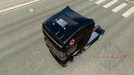 Скин Euro Truck Simulator на тягач Scania для Euro Truck Simulator 2