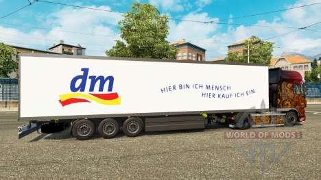 Полуприцеп-рефрижератор Schmitz DM Drugstore для Euro Truck Simulator 2