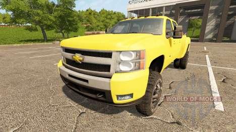 Chevrolet Silverado 3500 HD v2.0 для Farming Simulator 2017