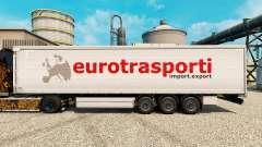 Скин Euro Trasporti на полуприцепы