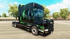 Скин Monster Energy на тягач Scania T