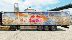 Скин Red Bull на полуприцепы
