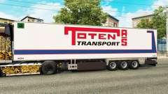 Полуприцеп-рефрижератор Chereau Toten Transport