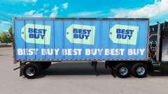 Скин Best Buy на малый полуприцеп