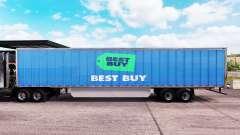 Скин Best Buy на удлинённый полуприцеп