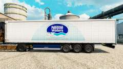 Скин Nestle Waters на полуприцепы