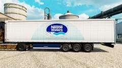Скин Nestle Waters на полуприцепы