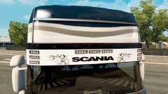 Солнцезащитный козырек Scania v2.0