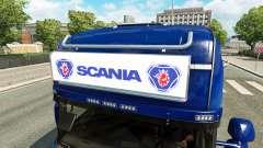 Рекламный световой короб для Scania