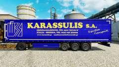 Скин Karassulis S.A. на полуприцепы