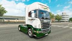 Скин Panexpress на тягач Scania