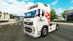 Скин Viking Express на тягач Volvo