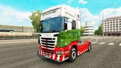 Скин ETS2Studio на тягач Scania