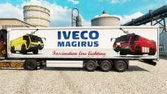 Скин Iveco Magirus на полуприцепы