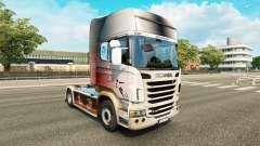 Скин World Cup 2014 на тягач Scania