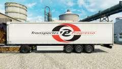Скин Transportes Progresso на полуприцепы