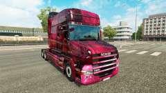 Скин Weltall на тягач Scania T