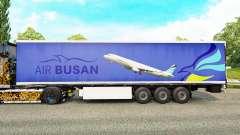 Скин Air Busan на полуприцепы