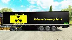 Скин Biohazard Intercorp Brazil на полуприцепы