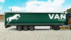 Скин Van Cargo на шторный полуприцеп