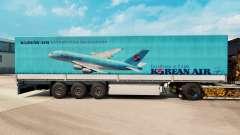 Скин Korean Air на полуприцепы