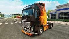 Скин Cubical Flare на тягач Volvo