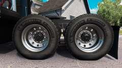 Новые колёсные диски и покрышки