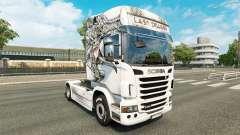 Скин Last Dragon на тягач Scania