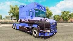Скин Euro Trans на тягач Scania T