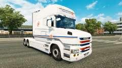 Скин Transalliance на тягач Scania T