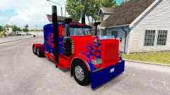 Скин Optimus Prime на тягач Peterbilt 389