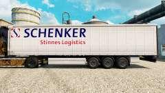 Скин Schenker Stinnes Logistics на полуприцепы
