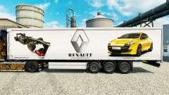 Скин Renault F1 Team на полуприцепы