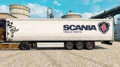 Скин Scania Truck Parts на полуприцепы