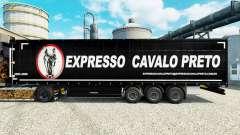 Скин Expresso Cavalo Preto на полуприцепы