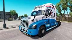 Скин North American на Freightliner Cascadia