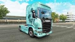 Скин Skull на тягач Scania