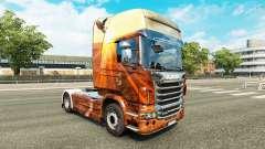 Скин Free Spirit на тягач Scania